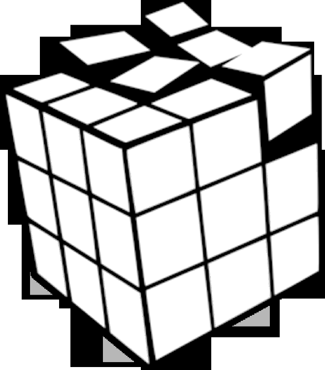 660x751 How To Draw A 3d Rubik's Cube