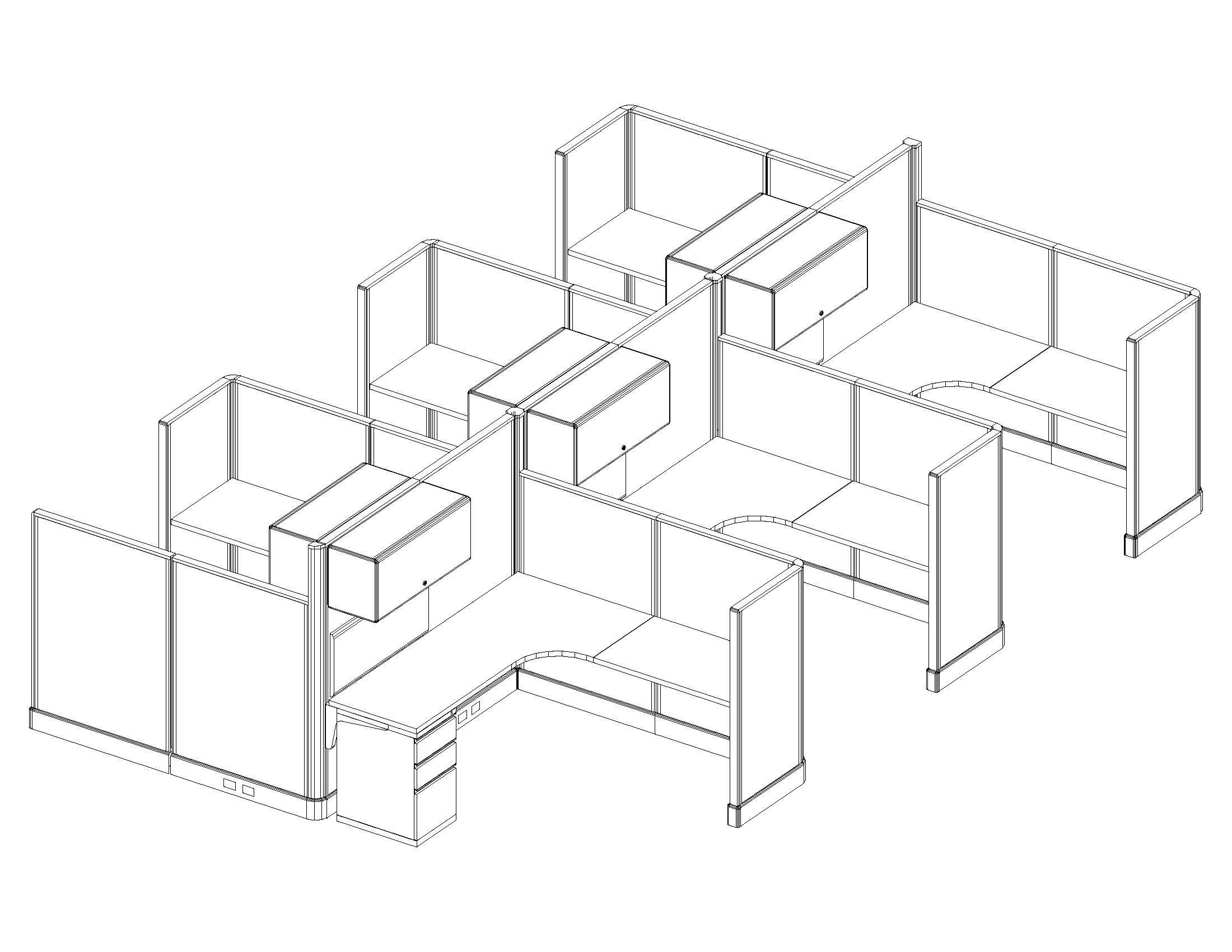 2200x1700 Herman Miller Office Furniture