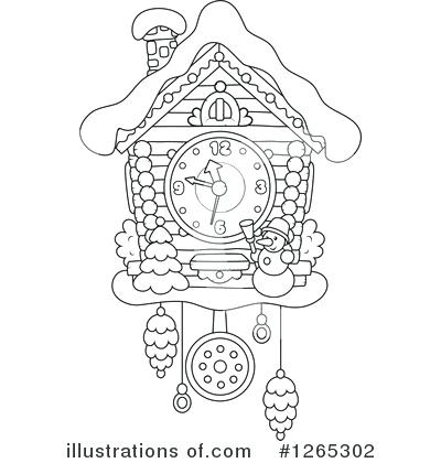 Cuckoo Clock Drawing at GetDrawings