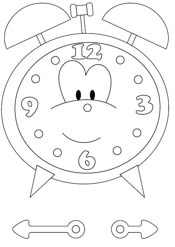 612x862 Best Cuckoo Clock Coloring Page Free Download This Is Pictures