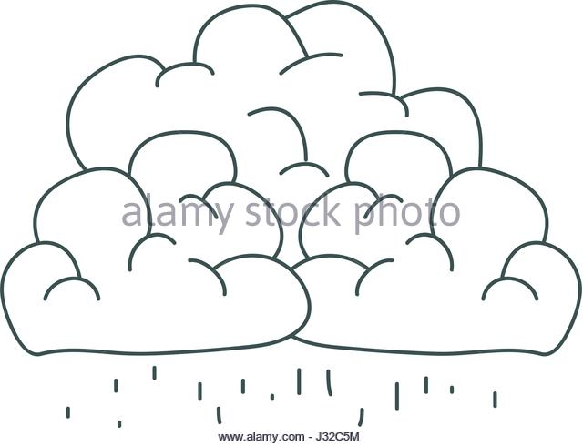 640x490 Gray Hand Drawing Silhouette Cumulus Stock Photos Amp Gray Hand