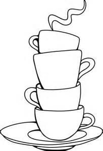 204x300 10 Best Cup And Saucers Clip Art Images On Clip Art