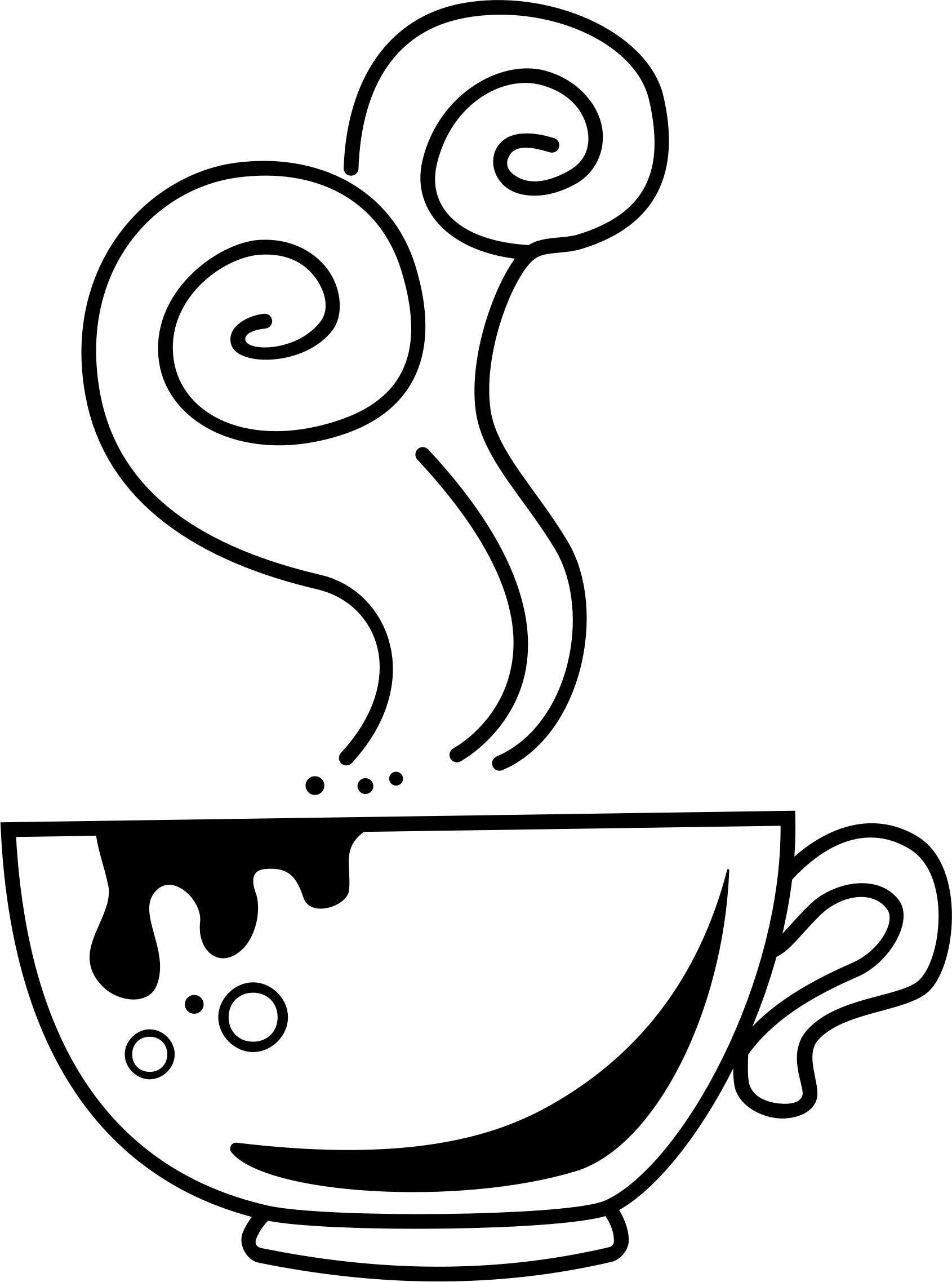 1690x2275 Hand Drawn Coffee Cup Line Art Icons Png