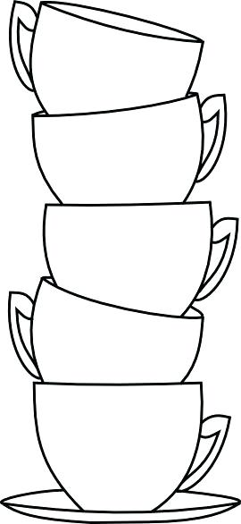 270x586 Coloring Sheets Of Cup Of Tea