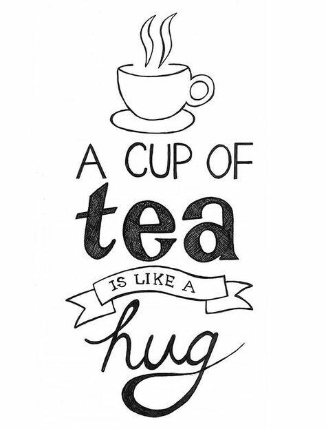 474x623 Tea And A Hug Uploaded Pins Hug, Teas And Doodles