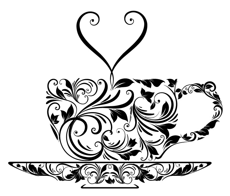 740x631 Tea Cup Tattoo Deviant Art, Tea Cup And Ankle