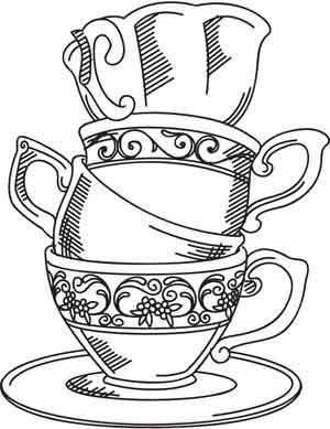 Cup Of Tea Drawing at GetDrawings.com | Free for personal use Cup Of ...