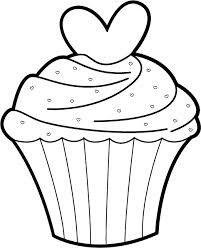 cupcake black and white drawing at getdrawings com free for rh getdrawings com birthday cupcake clipart black and white happy birthday cupcake clipart black and white
