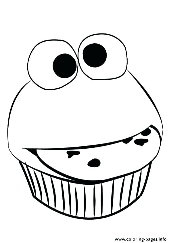 595x842 Cupcake Coloring Pictures Whimsical Cupcake Coloring Page Cupcake