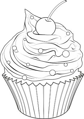Cupcake Drawing Designs