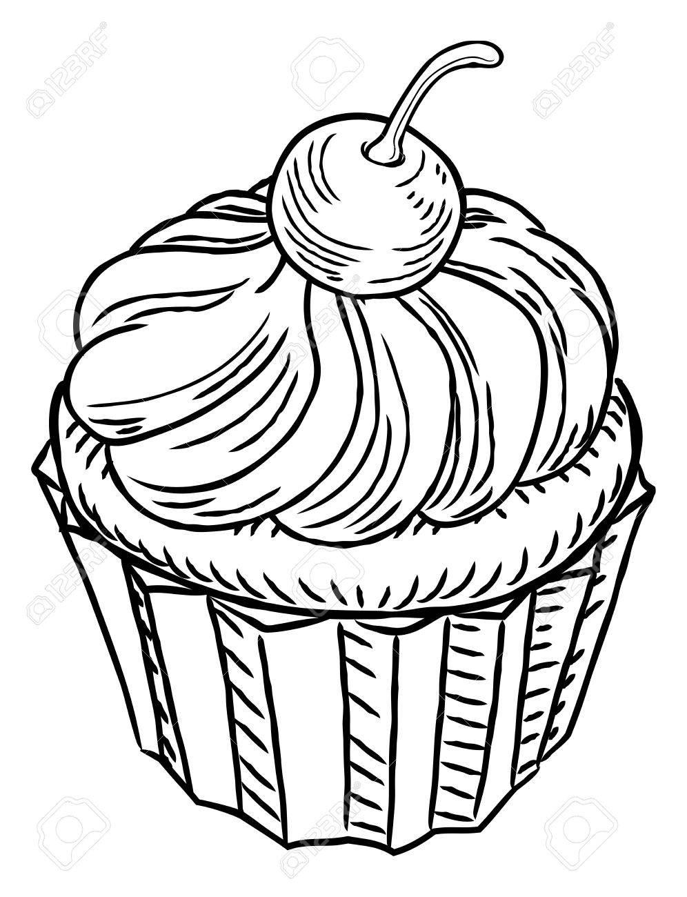 33 cupcake zum ausmalen  besten bilder von ausmalbilder