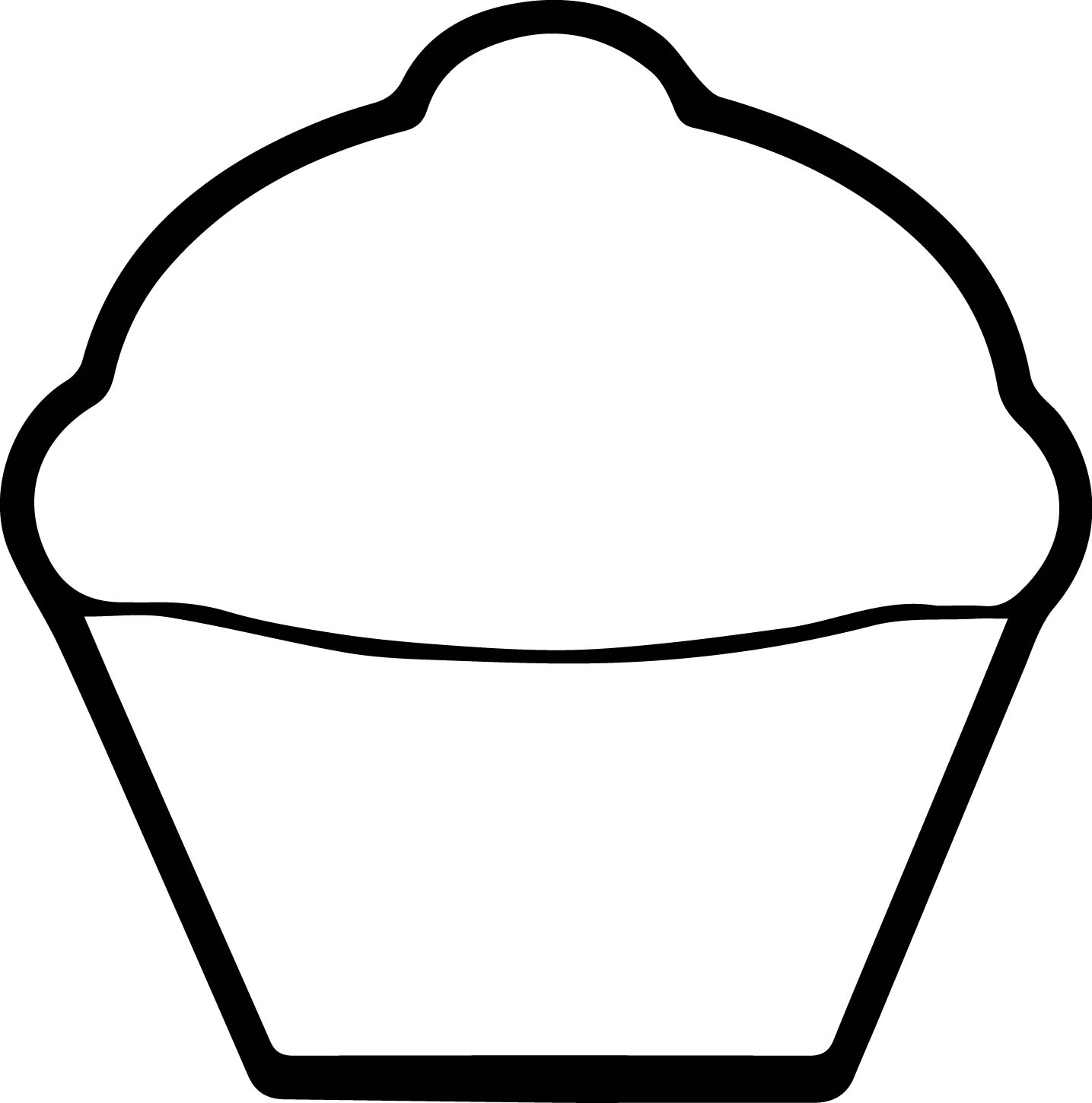 Cupcake Drawing Easy at GetDrawings.com | Free for personal use ...