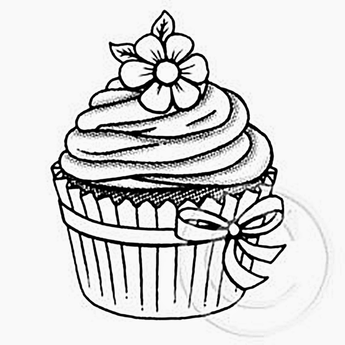 1200x1200 Riscos Graciosos (Cute Drawings) Cupcakes, Sorvetes E Bolos