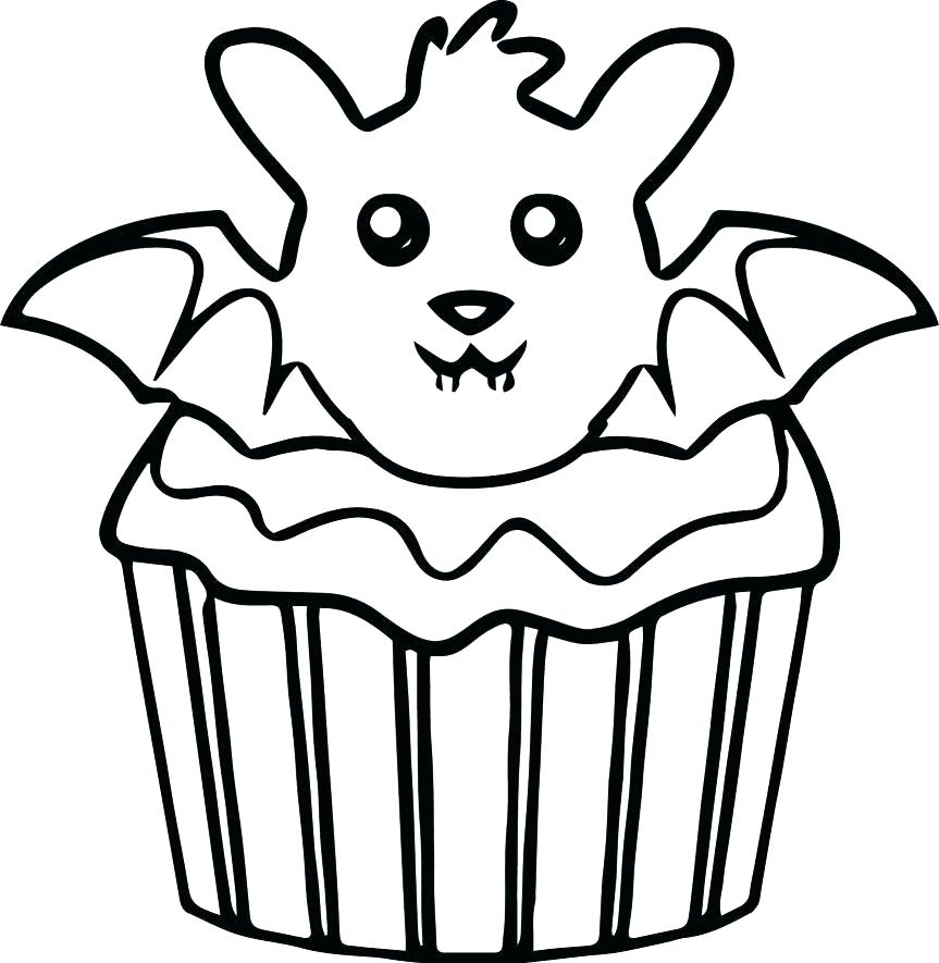 Cupcakes Drawing At Getdrawings Com