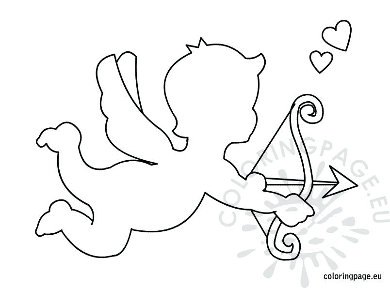 804x595 Awesome Cupid Coloring Pages Kids Template Printable Page Share