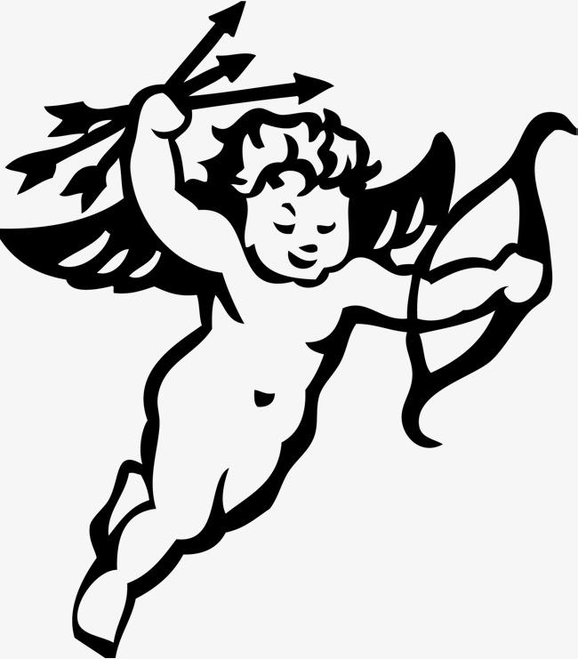 650x741 Cartoon Cute Little Cupid, Cartoon Cupid, Hand Drawn Characters