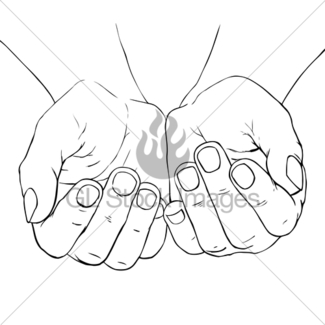325x325 Cupped Hand Gl Stock Images