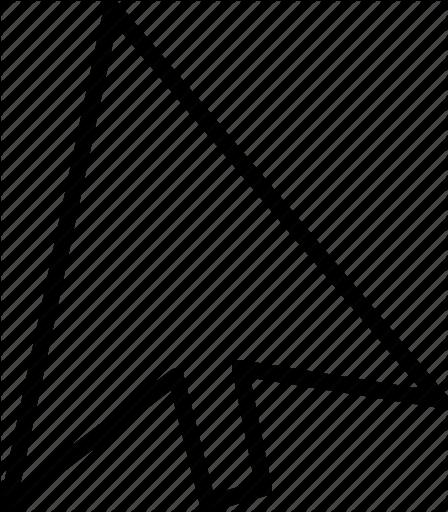 448x512 Arrow, Click, Cursor, Mouse, Pointer Icon Icon Search Engine