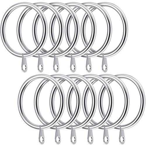 500x500 Curtain Hooks And Rings Amazon.co.uk