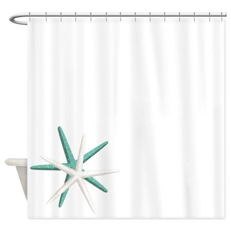 460x460 Sea Life Shower Curtain