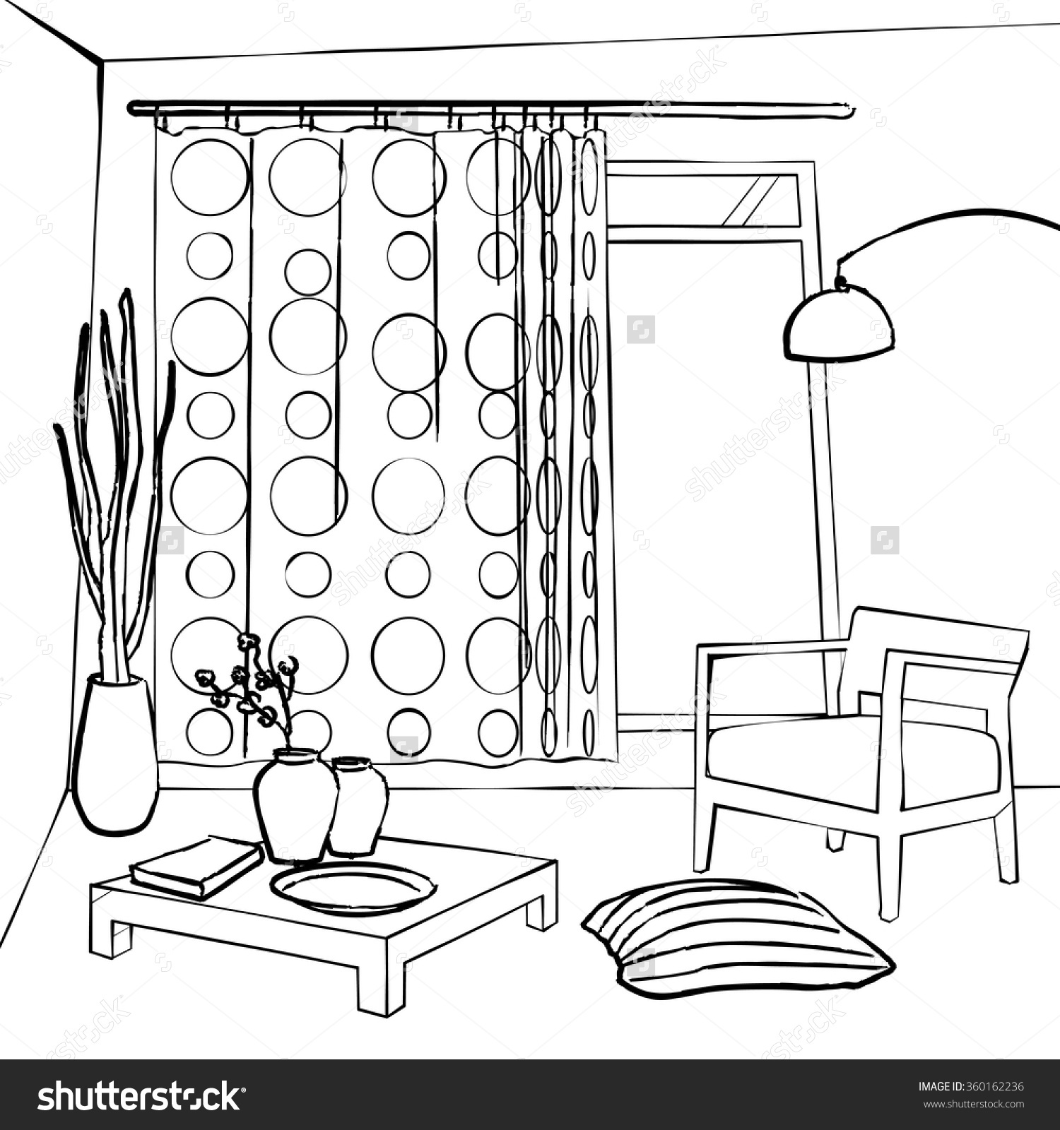 1500x1600 Sketch Vector Make Up Room Shutterstock Save To A Lightbox ~ idolza