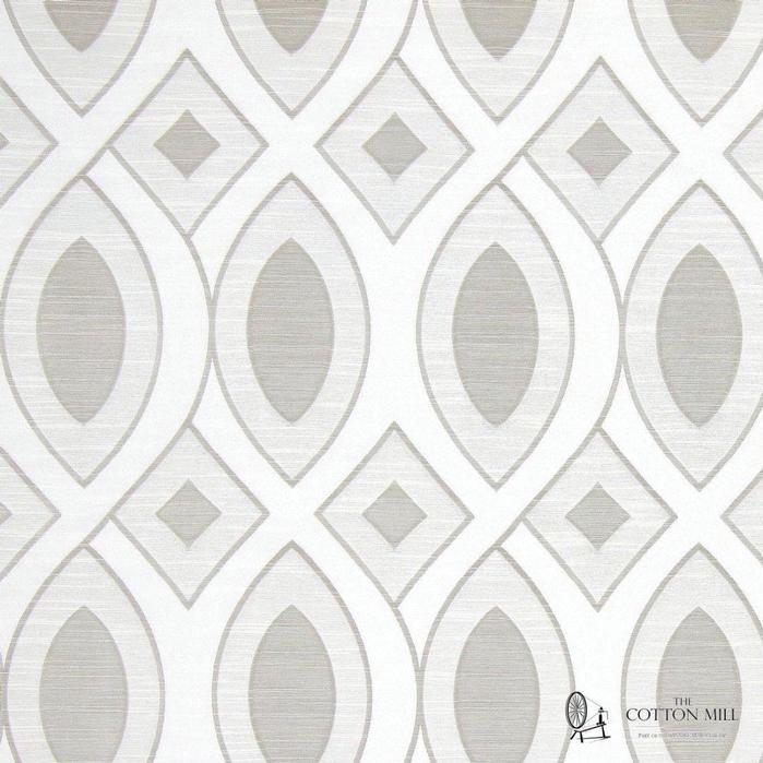 699x699 Valentine Pearl Geometric Art Deco Jacquard Curtain Fabric