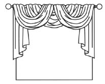 206x166 Common Forms Of Curtain Arrangements