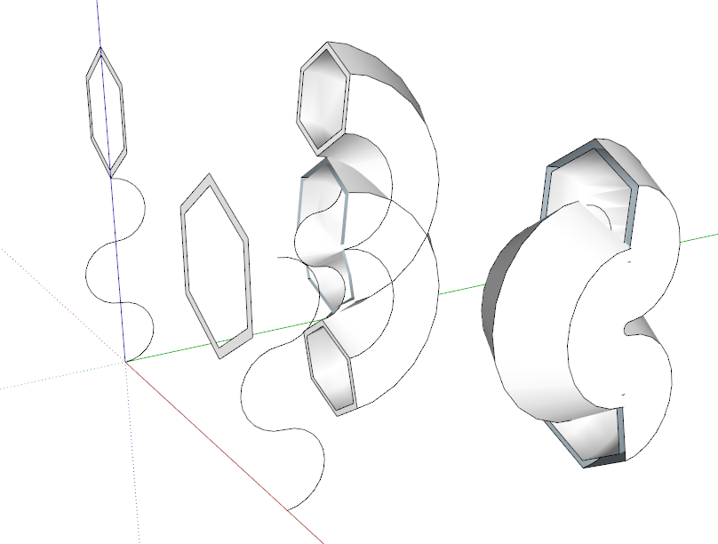 808x612 How To Make Hexagon To Follow Curved Line