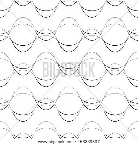 450x470 Seamless Curved Line Pattern. Vector Amp Photo Bigstock