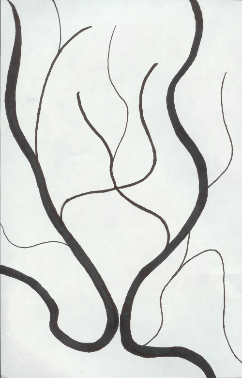 500x780 Curved Line Design By Menono Art