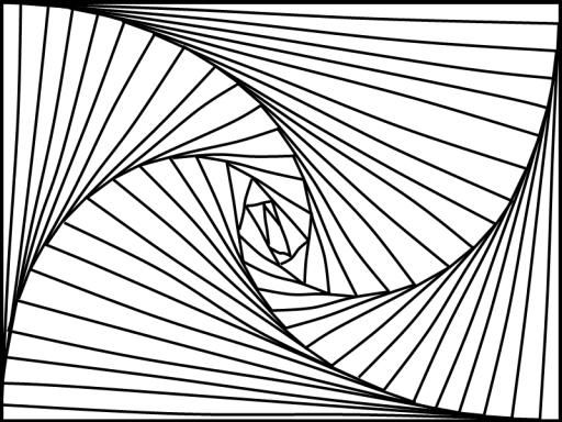 512x384 Straight Line Curves