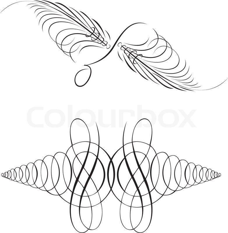 782x800 Calligraphy Symmetry Curves. Other Calligraphy In Portfolio
