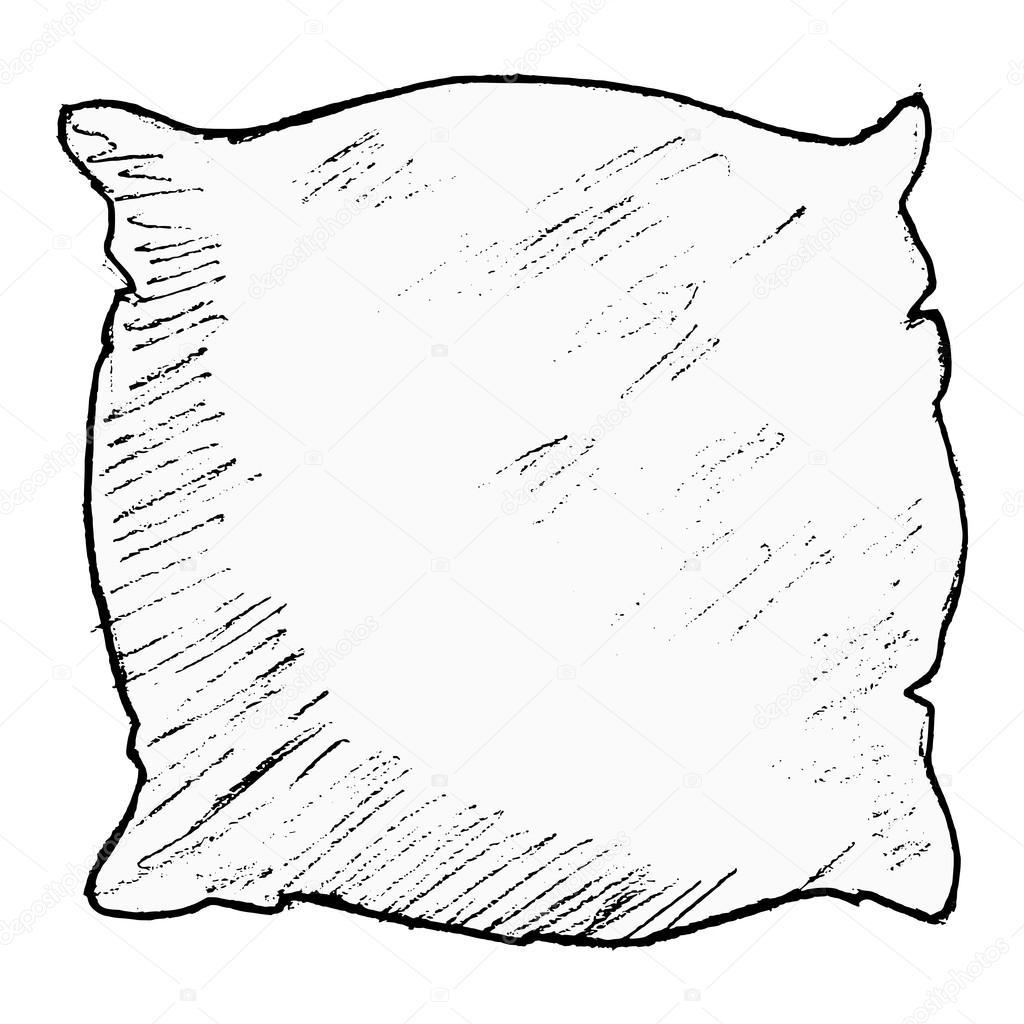 1024x1024 Pillow Stock Vector Perysty