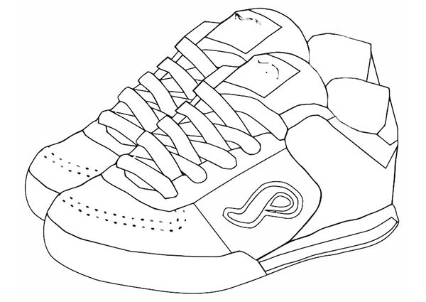 600x425 A Pair Of Shoes With Color Clipart