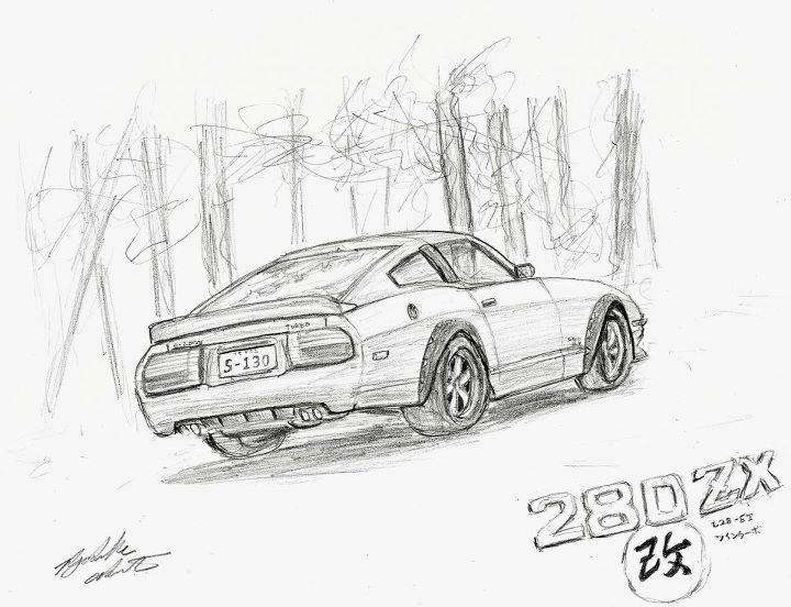 720x552 Datsun 280zx Custom By Skatekov