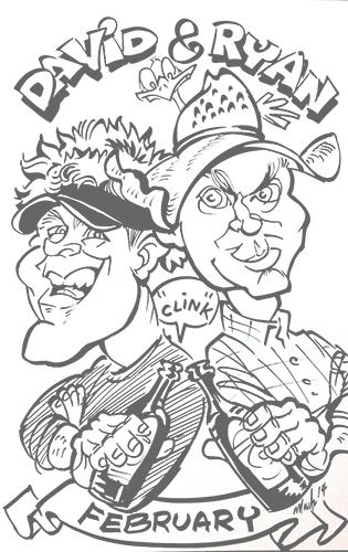 315x500 Custom Caricature Drawings Amp Art By Artist In Denver Co Mark