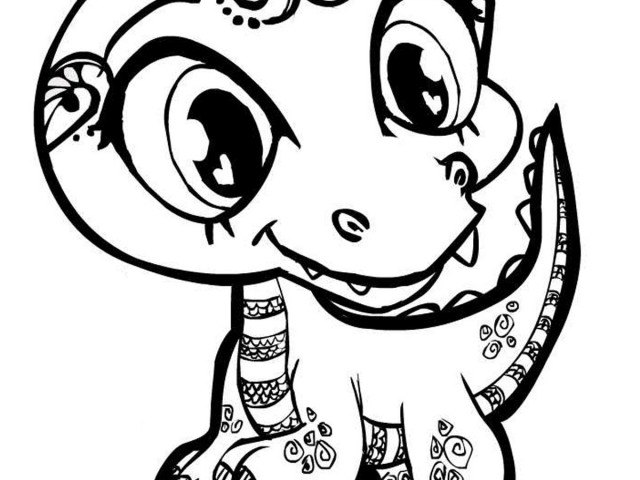 640x480 Cute Alligator Kids Coloring Pagesfree Coloring Pages For Kids
