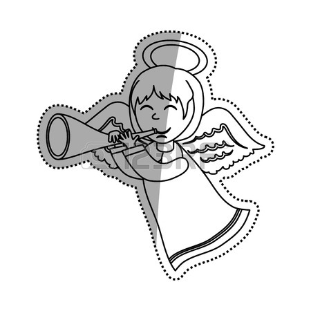 Cute Angel Drawing
