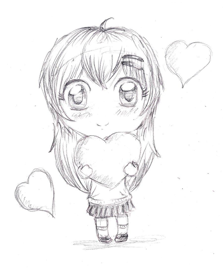 900x1081 Chibi OC sketch by inestd on DeviantArt