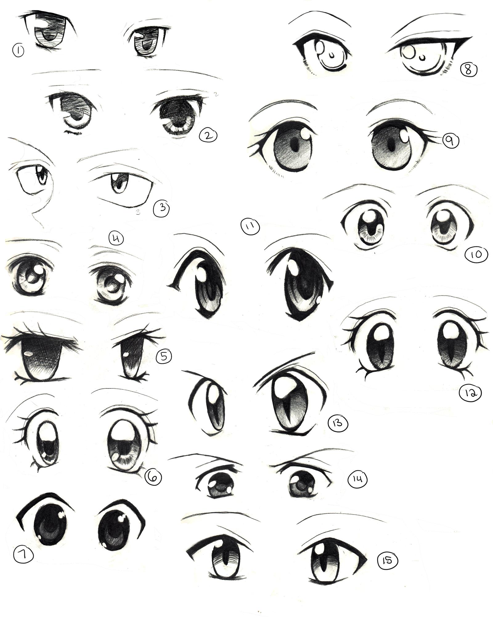 1600x2000 Drawing Eyes Anime