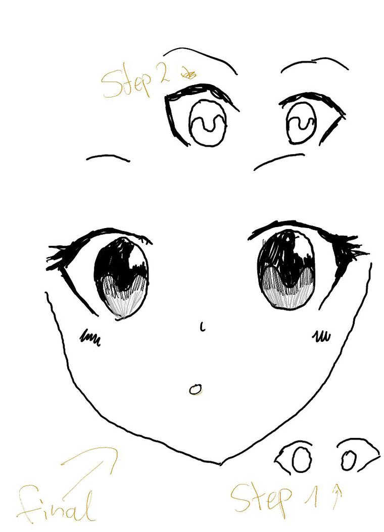 It's just a picture of Invaluable Cute Anime Eyes Drawing