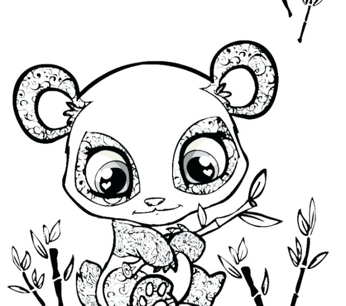 678x600 Cute Baby Animal Coloring Pages
