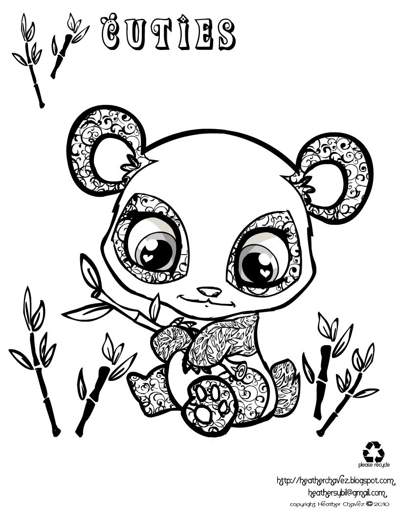 816x1056 Drawing How Draw A Cute Baby Panda Beargether With How