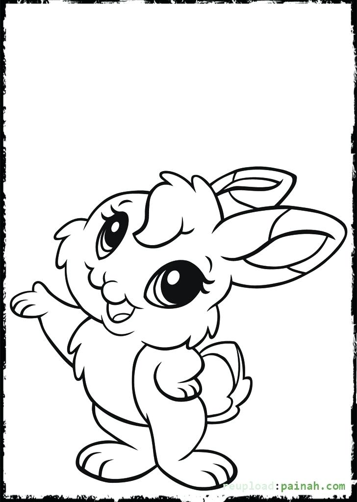 728x1024 Bunny Coloring Sheets Cute Baby Bunny Coloring Pages Bunny