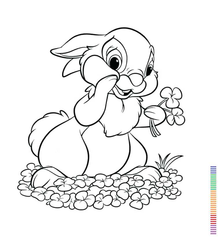 753x819 Bunny Rabbit Coloring Pages Bunny Rabbit Coloring Pages Cute Bunny