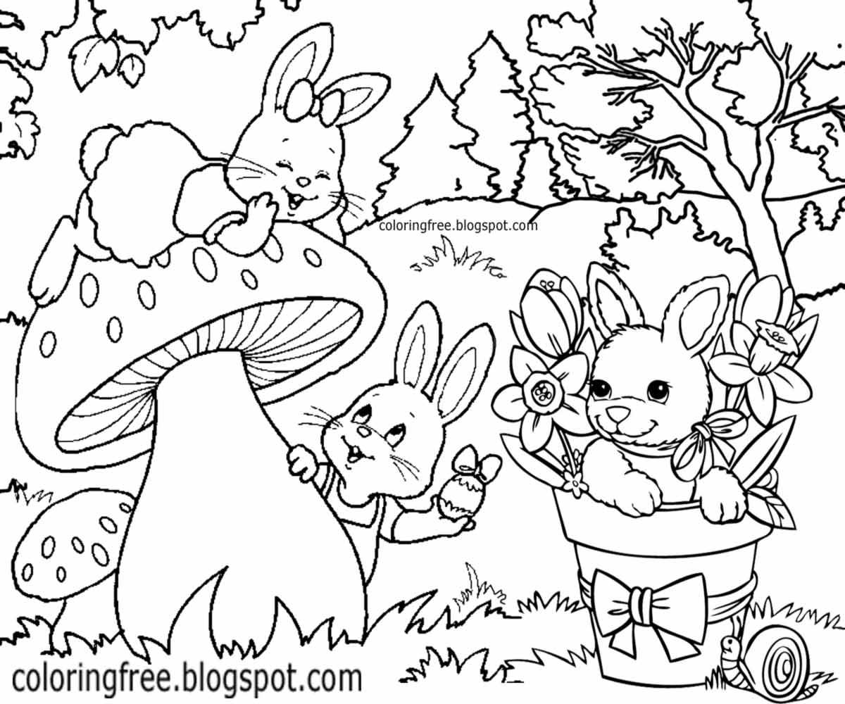 Bugs Bunny Coloring Page - Eskayalitim