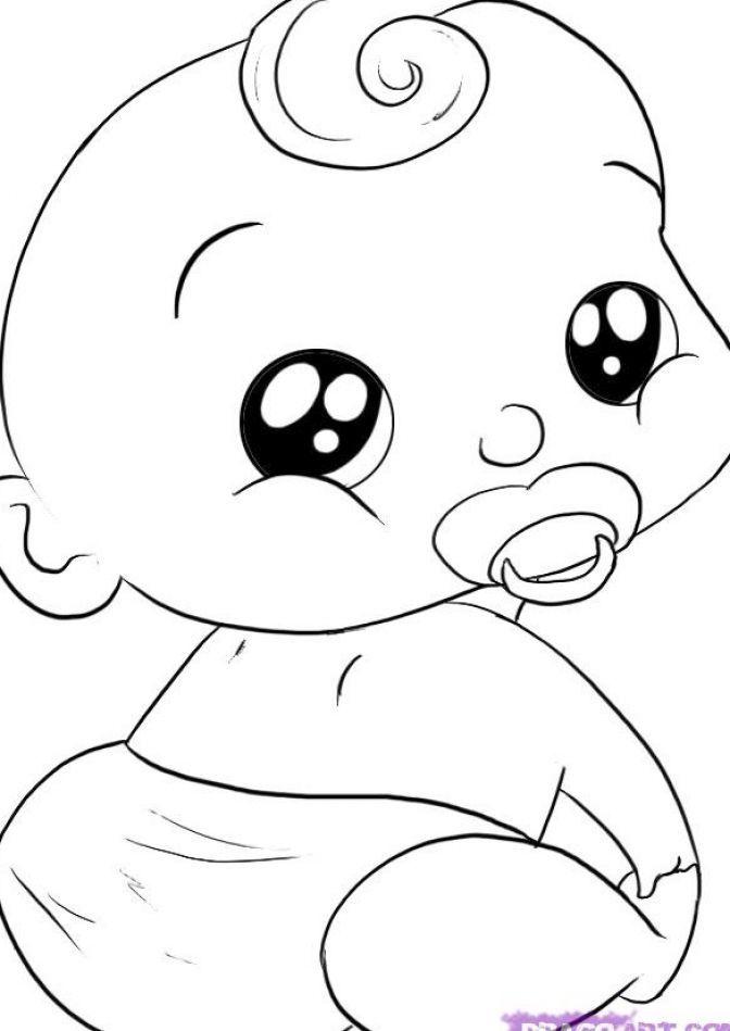 672x949 Photos Cute Babies Drawings,