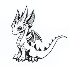 236x231 Image Result For Easy To Draw Baby Dragons