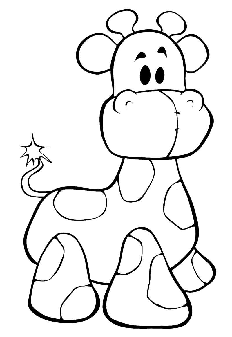 Cute Baby Giraffe Drawing At Getdrawings Com Free For Personal Use