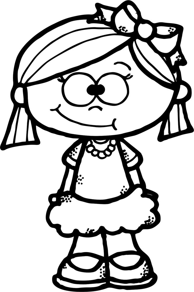 736x1110 Cartoon Girl Drawing Free Download Best Cartoon Girl Drawing